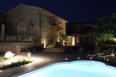 Casa Nova Grande bei Nacht
